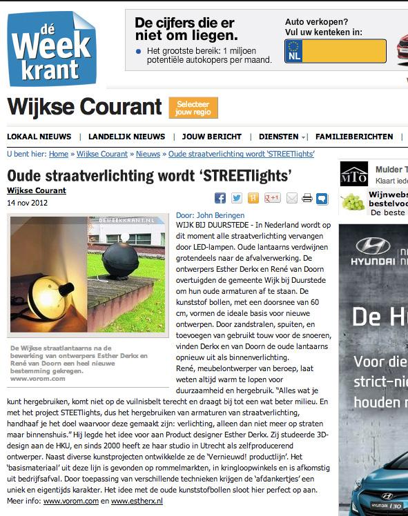Studio van Doorn - Rene van Doorn - Wijkse Courant